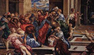 Tempelreinigung Jesus
